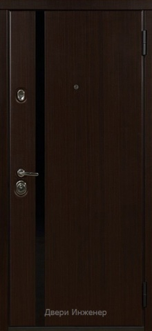Дверь с молдингом DR190