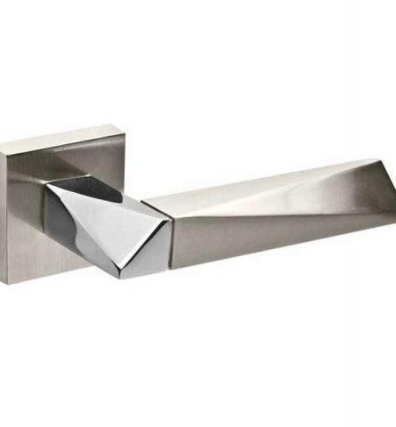 Ручка дверная Fuaro Diamond DM SN/CP-3