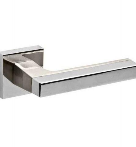 Ручка дверная Fuaro Flash DM CP/SN-8 хром/матовый никель